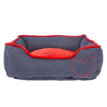 Heart Cuddler Dog Bed